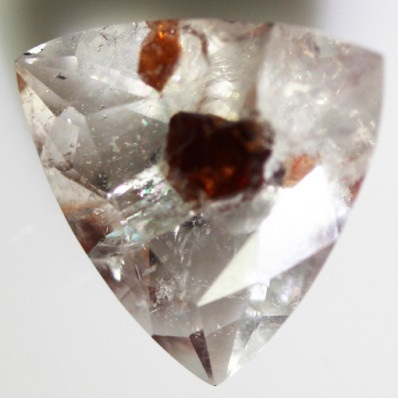 Almandine Garnet in Quartz